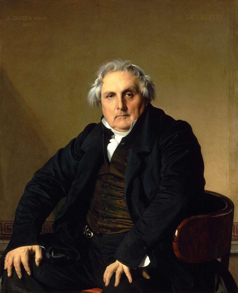 Portret pana Bertin, Jean-Auguste-Dominique Ingres, 1832